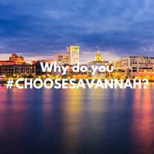 #chooseSAVANNAH Contest Image