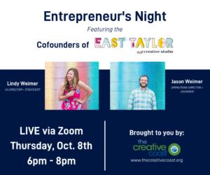 Entrepreneur's Night ft. East Taylor Creative