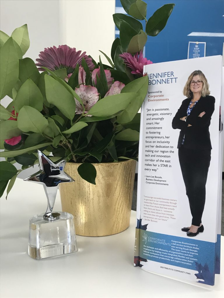 Jen Bonnett Awarded a Savannah Tech Community STAR