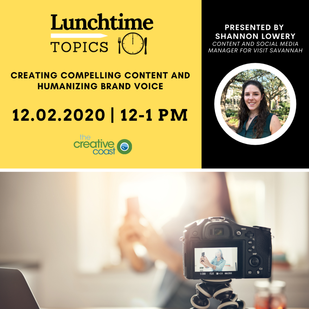 Lunchtime Topics occur once per week from noon to 1pm.