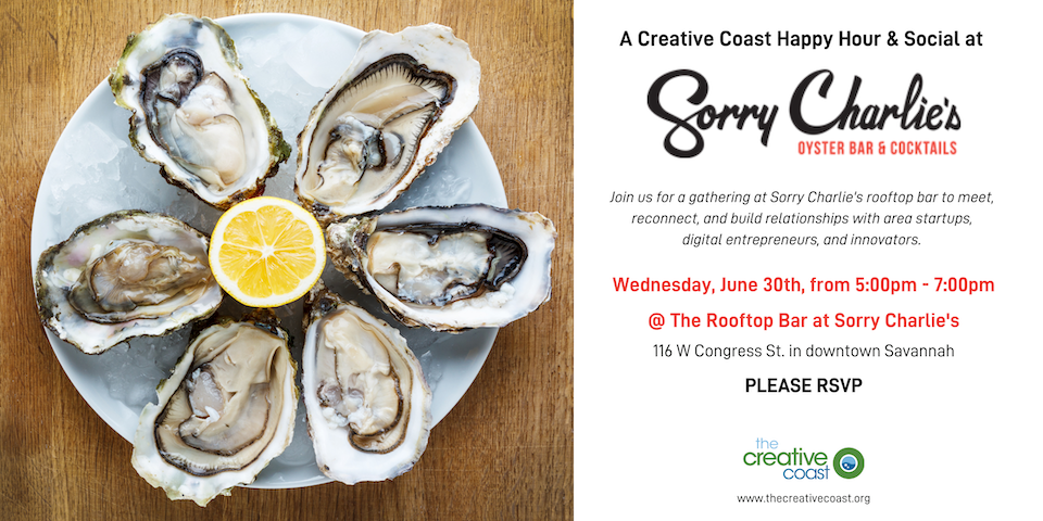 Sorry Charlie's Rooftop Social - June 30th at 5p