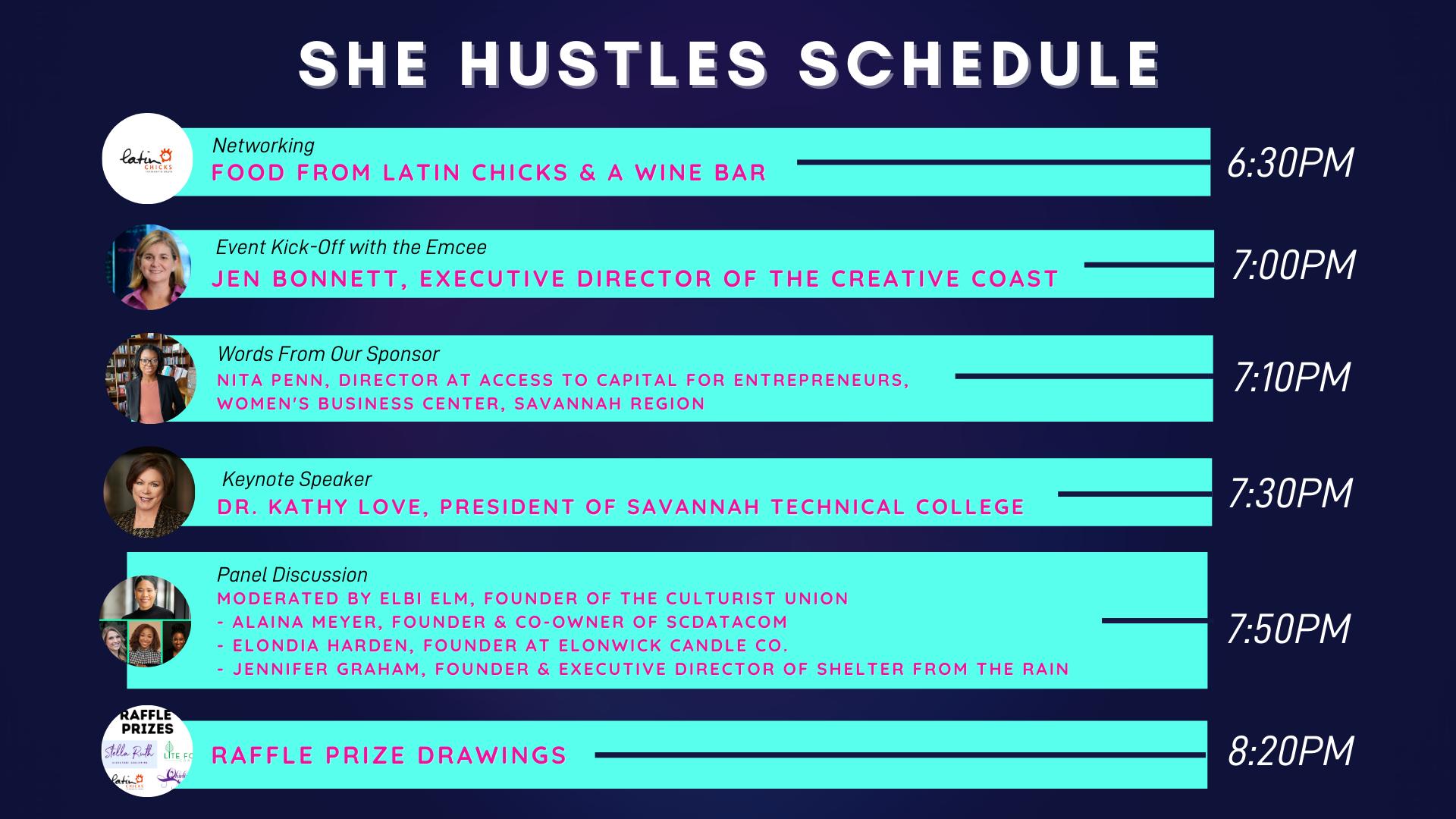 SHE HUSTLES 20201 - Event Program (2)