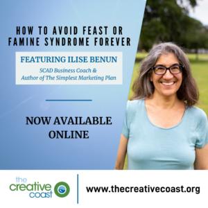 How to Avoid Feast or Famine Syndrome Forever ft. Ilise Benun