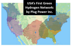USA's First Green Hydrogen Network: Plug Power Inc.