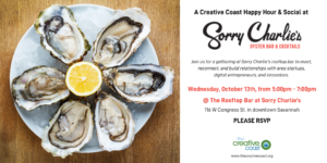 October 2021 Social @ Sorry Charlie's Rooftop Bar